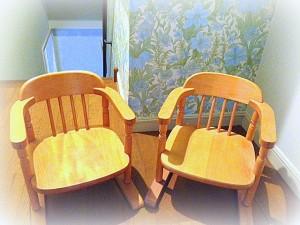 子供たちの椅子