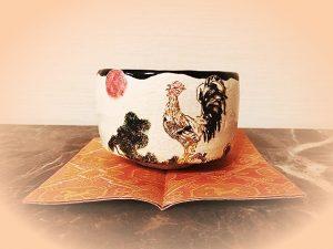 酉 楽茶碗 桂窯